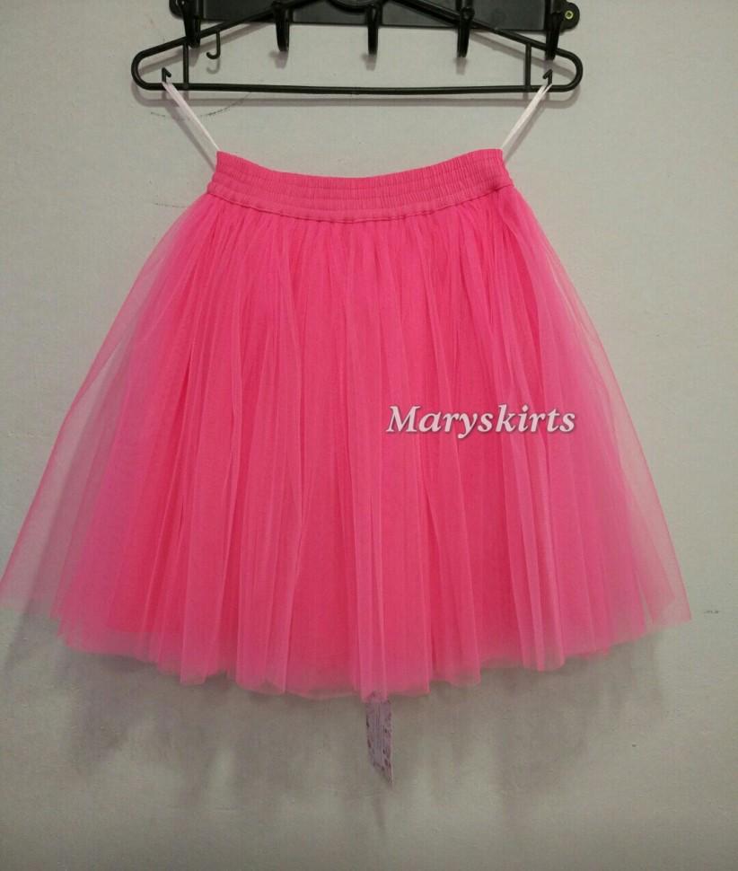 1863b20a62a Купить юбку пачку цвета неоновый розовый в интернет магазине
