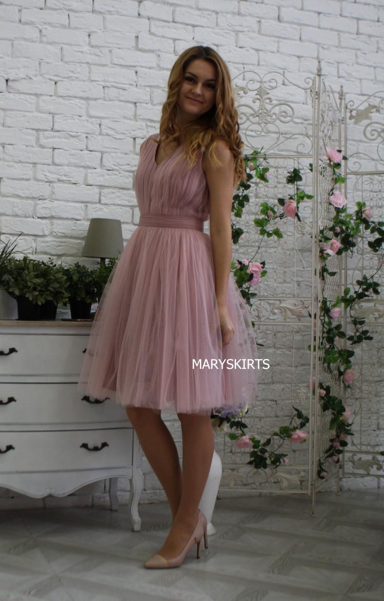 Фото фатиновое платье 22